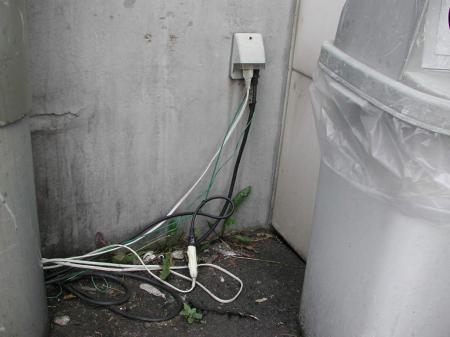 タコ足配線は漏電のもとです