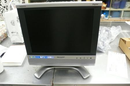 シャープ液晶カラーテレビ アクオス13V型です