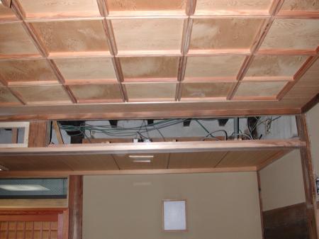 下がり天井です