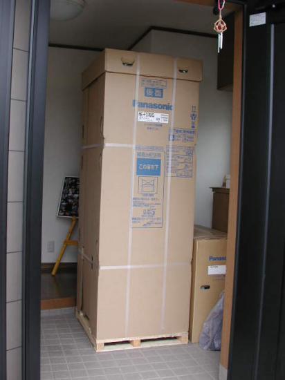 パナソニックの寒冷地仕様370 リットルのエコキュートです。