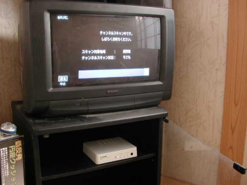 チャンネルを自動設定します。