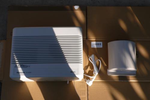パナソニックの熱交換型換気扇です。