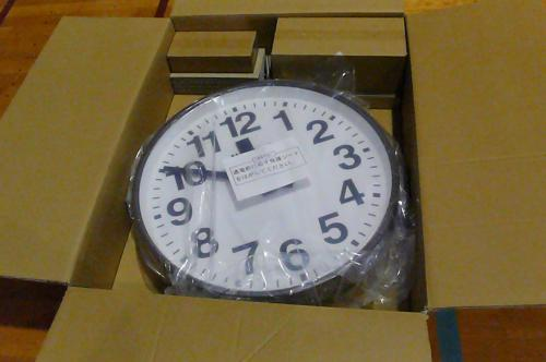 パナソニックの電波時計です