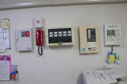 火災通報装置の設置工事完了です