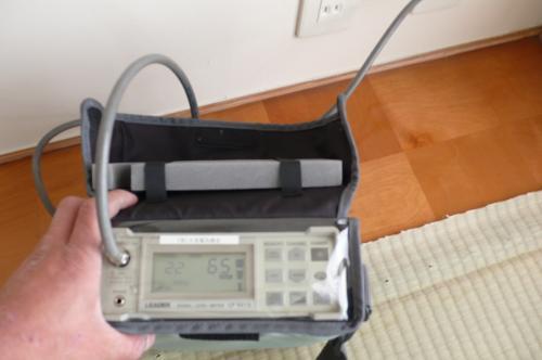 テレビの電波もシッカリ測定します