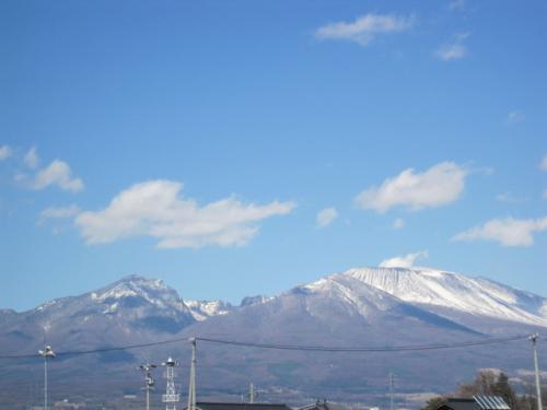 浅間山も とっても爽やかです