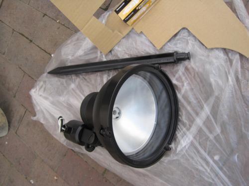 パナソニック電工のHIDライトアップ照明です