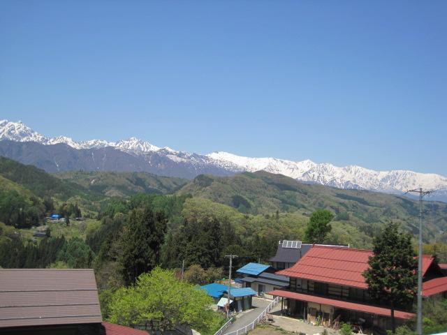 アルプス連山の風景が素晴しいです。