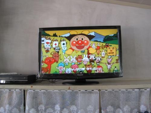 DVDもきれいに写ります  園児達も大きな画面で楽しめます