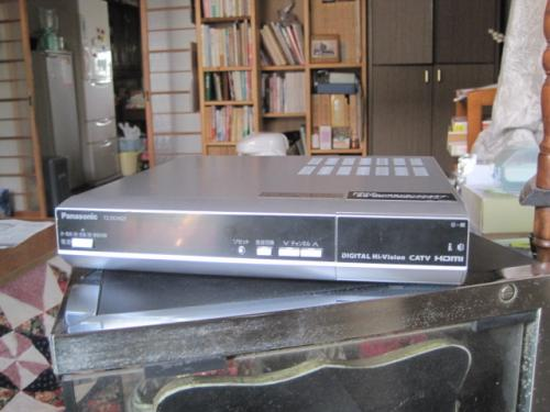 長野INCケーブルテレビのデジタルSTBです。