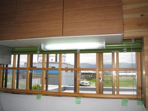 安心してキッチンの照明が使えます
