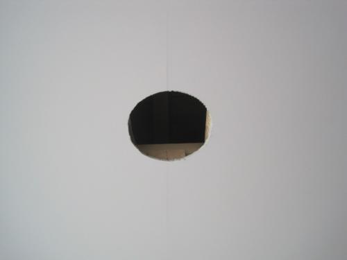 天井に照明器具の穴を開口します