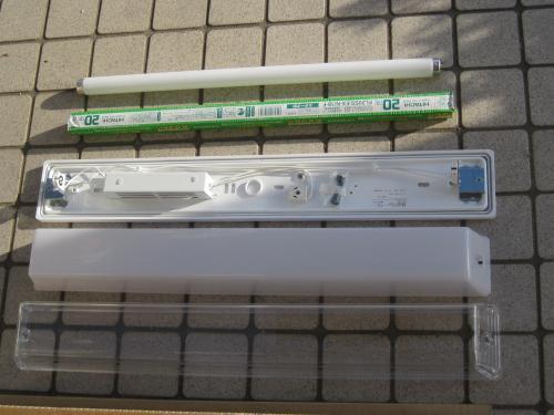 インバーター照明に交換しますと  1.5倍も明るくなって省電力になります