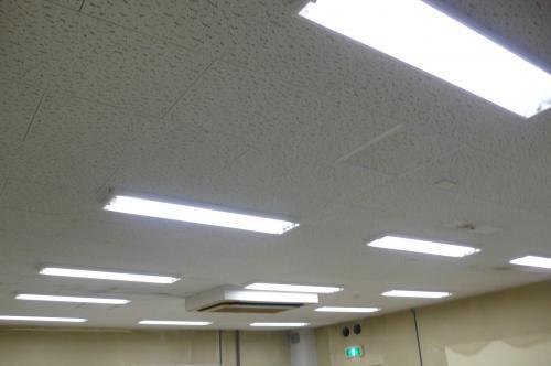 省エネインバーター照明工事の完成です