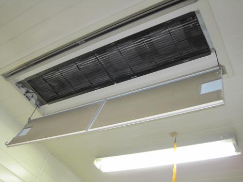 エアコンのフィルターが目つまりで暖房が効きません