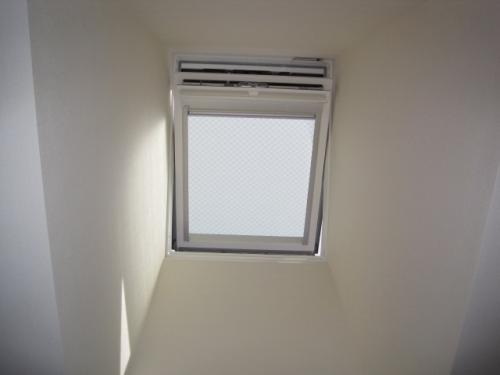 天窓を空けました