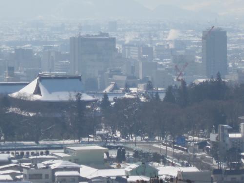 今朝の長野市善光寺さんの風景です!
