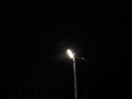 LED防犯灯は蛍光灯の防犯灯と比べますと  ランプの寿命が長いのでメンテナンスが楽です