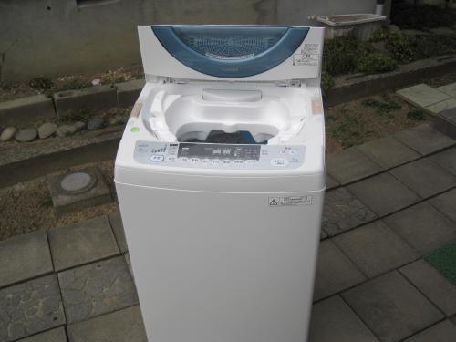 全自動洗濯機です