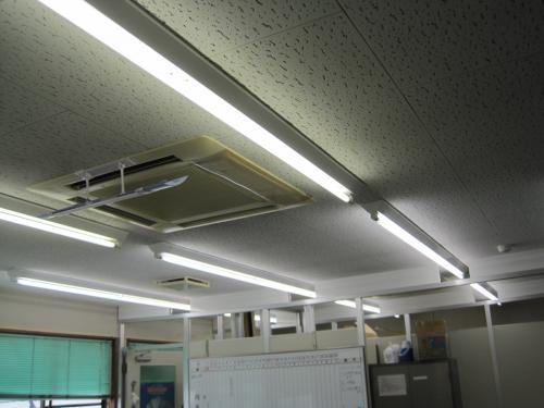 明るさを変えずに節電対策完了です