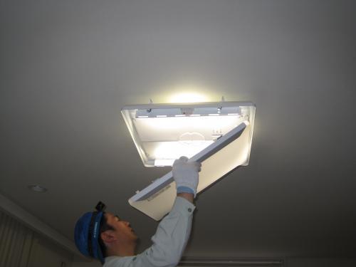 エコナビ明るさセンサーで明るさは変化します