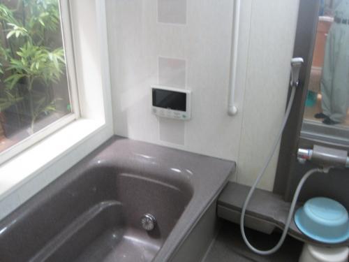アナログ放送の浴室用テレビです