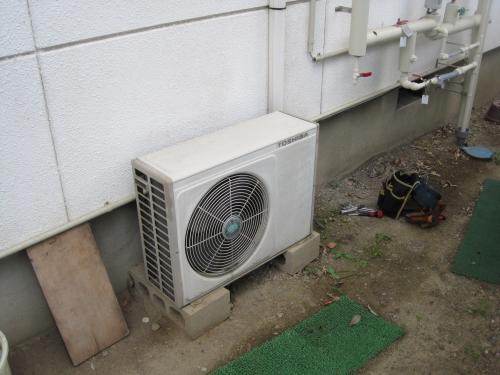 15年前のエアコンが故障です