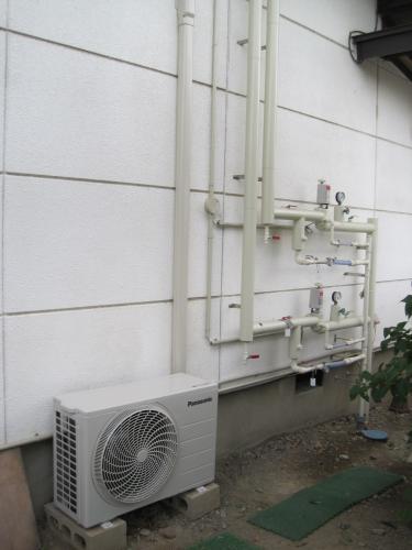 エアコンの交換工事を完了しました