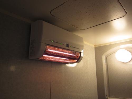 三菱浴室暖房器はぽかぽかと暖かです