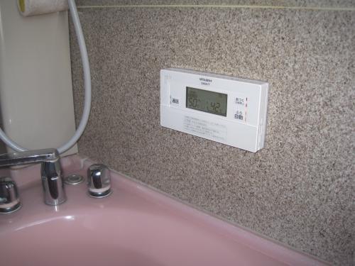 浴室リモコンの取付け完成です