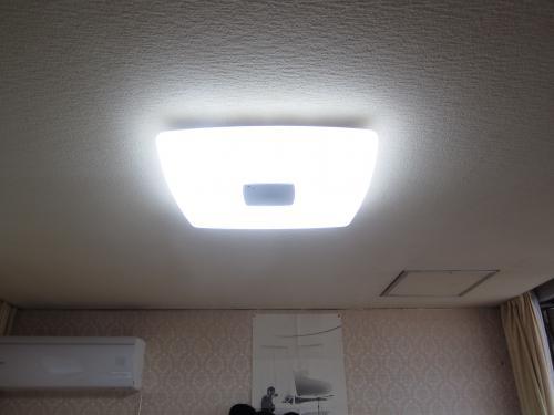 LED照明に交換しました