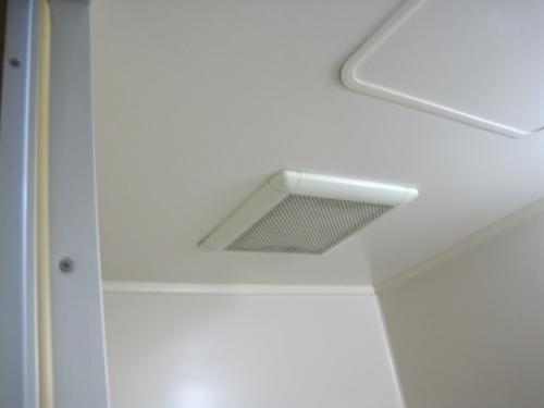 浴室換気扇のファンが回りません
