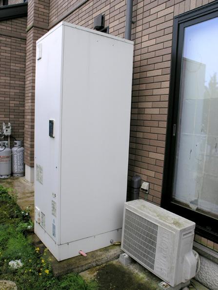 電気温水器の修理01