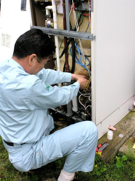 電気温水器の修理06