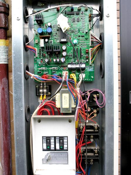 電気温水器の修理08
