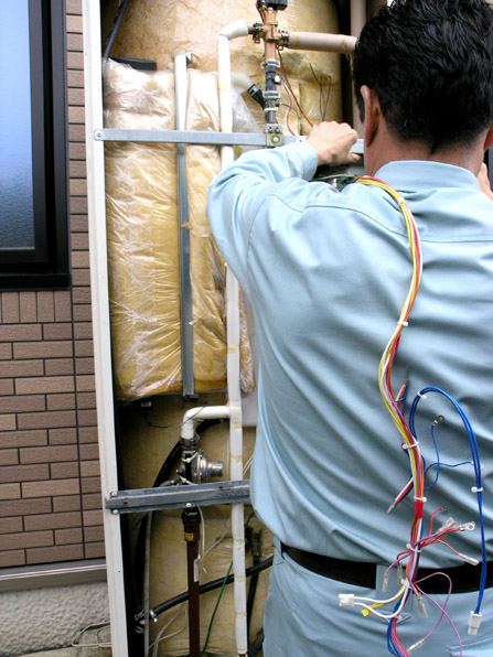 電気温水器の修理12