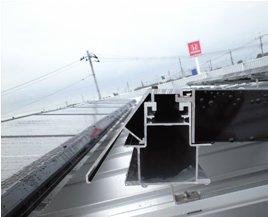 Honda Cars 太陽光発電-モジュ-ル施工中01