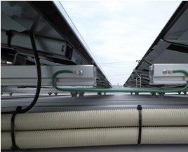 Honda Cars 太陽光発電-モジュ-ル施工中02