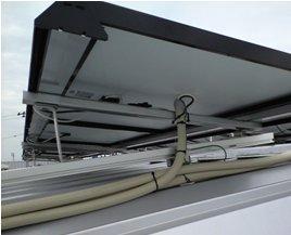 Honda Cars 太陽光発電-モジュ-ル施工後01