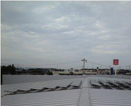 Honda Cars 太陽光発電-モジュ-ル施工後02