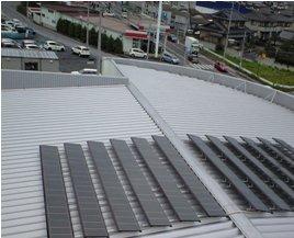 Honda Cars 太陽光発電-モジュ-ル施工後03