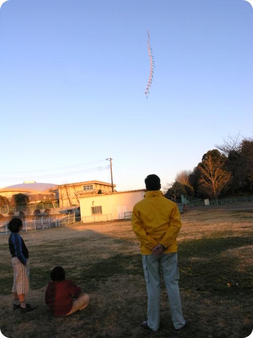 凧上げる06