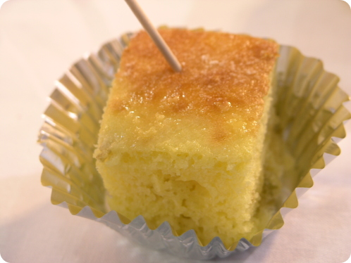 ダイキンオール電化フェアIHクッキングケーキ