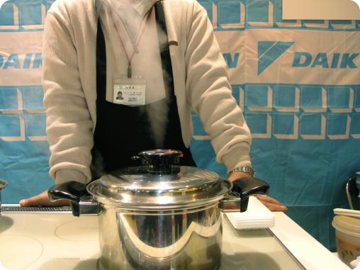ヨシノクラフト鍋で肉じゃが02