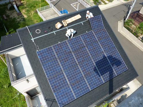 太陽光発電システム施工