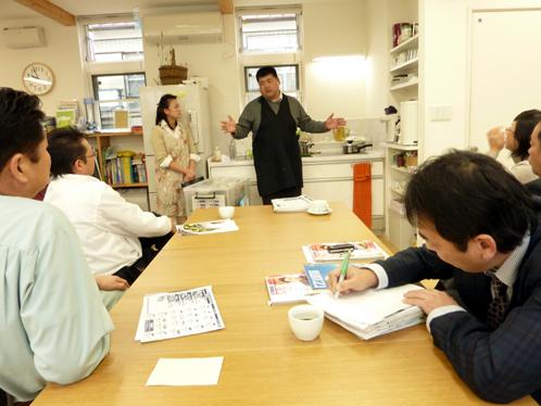 ヨシノクラフトの調理実習
