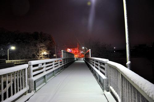 2011年1月15日水戸で初積雪04