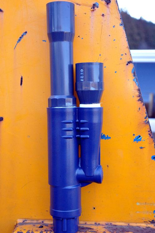 温泉地で汲み上げポンプの修理をしました!07