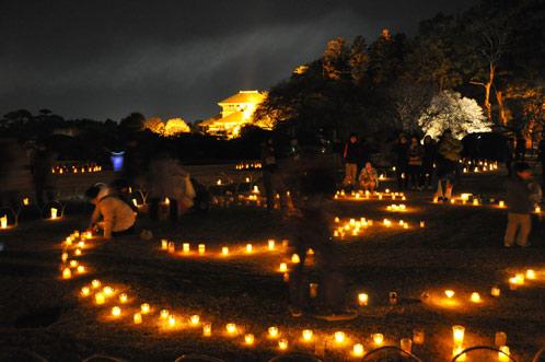 2011年偕楽園・夜梅祭04