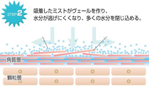 ナノリフレの肌ケアSTEP2